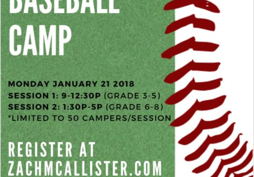 Zach McAllister Baseball Camp